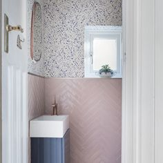 - For most homeowners, the planning and design of a bathroom can be an exciting-but daunting-prospect. Whether you are renovating an existing space, or . Small Downstairs Toilet, Downstairs Cloakroom, Small Toilet, Cottage Bathroom Design Ideas, Bathroom Design Small, Bathroom Interior Design, Small Bathroom Ideas Uk, Bad Inspiration, Bathroom Inspiration