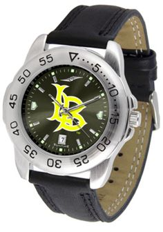 California State (Long Beach) Dirtbags Sport AnoChrome Men's Watch with Leather Band: This handsome,… #Sport #Football #Rugby #IceHockey