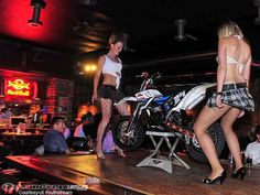 Lap Dance - KTM 65...not sure if I'd rather be the girls or the bike  ;-)