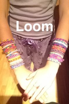 All my loom bands