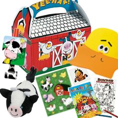 This is our Barnyard theme goodybag! Each goody bag comes with a few items matching the theme. For our Silver, Gold and Platinum packages, we do all the set up and clean up- just come in and enjoy! Details here: http://maplewoodfarm.bc.ca/birthday/