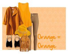 """Orange #3"" by lallushka on Polyvore"