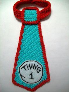 Thing 1 | Crochet Tie