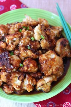 "Sesame Glazed Cauliflower ""Wings"" will be devoured by both vegetarians and meat-eaters alike"