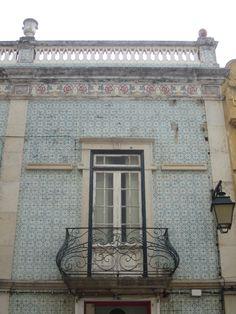 elegant tiled facade