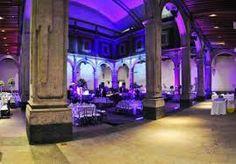 Patio principal MIDE #museo #iluminacion #noche #centro