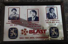 1983-1984 MISL Champions Mirror