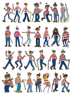 27 Waldos wheres waldo wally book idea proposal islands fold Wo Ist Walter, Where's Waldo Costume, Ou Est Charlie, Wheres Wally, Library Events, Illustration, We The People, My Childhood, Book Design