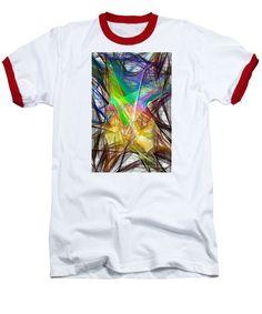 Baseball T-Shirt - Abstract 9618