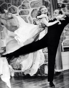 """Ginger Rogers: """"I did everything Fred Astaire did, but backwards, and in high heels.""""."""