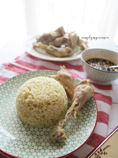Hainan Chicken Rice Recipe