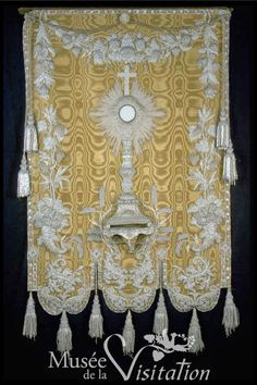 Monstrance Banner from Musée de la Visitation in France