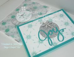 handmade by Julia Quinn - Independent Stampin' Up! Demonstrator: Winter Wonderland Inspiration for CASEing the Catty