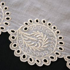 #RR107 Machine Embroidery Design for 1823 Eyelet Border
