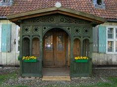 Scandinavian Cottage, Scandinavian Design, Energy Efficient Homes, Cottage Homes, Building A House, Gazebo, Porch, Outdoor Structures, Cabin Fever