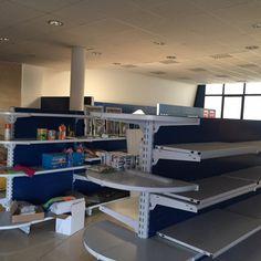 Lo spazio magazzino - prima delle azioni di visual merchandising