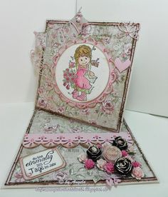♥ Easel Card bei Stamps