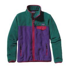 Patagonia Women\'s Full-Zip Snap-T\u00AE Fleece Jacket - Concord Purple CNCP