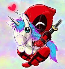 Kuvahaun tulos haulle deadpool unicorn