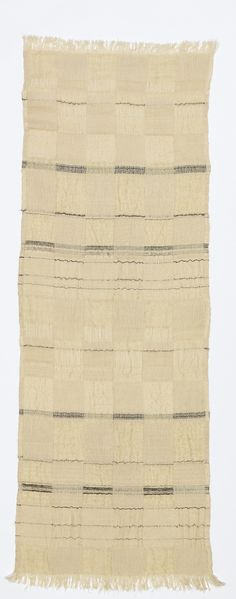 Trude Guermonprez · Double-cloth woven length of fabric · 1955–1975 · 80 x 28.5 in · Cooper Hewitt Design Museum · NY