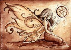 Elven Star Fairy ACEO by ~daydreamer-art on deviantART