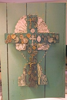 my southwest collection of crosses and religious medals