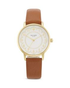 kate spade new york Scalloped Dial Metro Watch, 34mm | Bloomingdale's