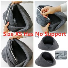 Winter Warm Dog Bed Pet Dog House Soft Suitable Fleece Cat Dog Bed House for Dog Cushion Cat Sleeping Bag Nest High Quality Dog House Bed, Diy Dog Bed, Dog Shop, Dog Cushions, Cat Sleeping, Cat Supplies, Outdoor Dog, Pet Beds, Pet Accessories
