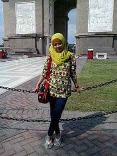 Simpang Lima Gumul Kediri di Kediri, Jawa Timur