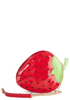 Strawberry Feels Forever Bag | Mod Retro Vintage Bags | ModCloth.com