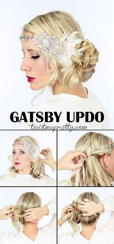 20s hairstyles long hair tutorial