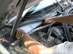Cabin air filter replacement- Chevrolet Impala