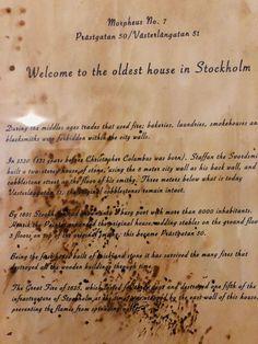 Stokholm oldest house Christopher Columbus, Smokehouse, Blacksmithing, Life Hacks, Old Things, Europe, Lifehacks, Wrought Iron