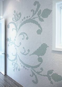 The floor tile is cool too!  http://assets6.designsponge.com/wp-content/uploads/2009/06/jilloffice7.jpg