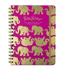 The Lilly Pulitzer 2016 Medium Agenda is better than ever! This 17-month Lilly Pulitzer agenda for 2016-2017 is useful and unique! It is a daily agenda full of frisky fun! The colored tabs make for ha
