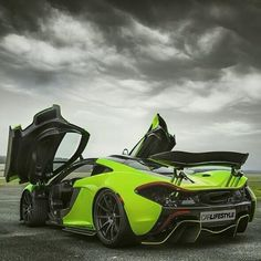 The McLaren was unveiled as a concept car at the Paris Motor Show in 2012 and went into production in The car has a limited production run of only 375 units Mclaren P1, Mclaren Autos, Mclaren Cars, New Sports Cars, Exotic Sports Cars, Super Sport Cars, Exotic Cars, Maserati, Lamborghini