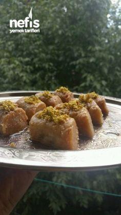 5 Dk Da 5 Malzeme İle Enfes Tatli tariflrrim Turkish Recipes, Ethnic Recipes, Baked Potato, Yogurt, Deserts, Tart, Baking, Food, Pie
