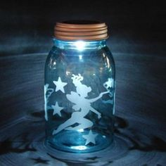 Could make these into night lights. Add a battery powered tea light to the inside of the lid.