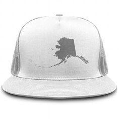 Alaska State Hat v1 T-Shirts & Hoodies