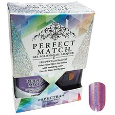 LeChat Perfect Match Spectra Collection Gel Polish   Nail Lacquer Futuristic SPMS03 *** Read more reviews of the product by visiting the link on the image. (This is an affiliate link and I receive a commission for the sales) #FootHandNailCare