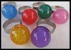 SALE 30% OFF See shop announcement Vintage 60s PINK mod space-age plastic bubble ring