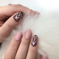 Nail art Christmas - the festive spirit on the nails. Over 70 creative ideas and tutorials - My Nails Winter Nail Designs, Short Nail Designs, May Nails, Hair And Nails, Cute Nails, Pretty Nails, Gold Manicure, Nail Polish, Nail Nail