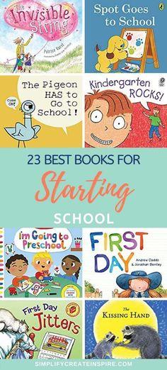 Before Kindergarten, Starting Kindergarten, Kindergarten Rocks, Starting School, Kindergarten Classroom, Preschool Books, Preschool Activities, School Bag Organization, 4 Year Old Activities