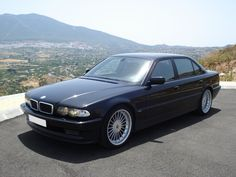 Not many cars ever have had the confident swagger of the old 7's ¶ 1994 E38 BMW 750iL Alpina B60 V12