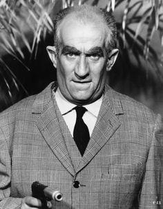 Le commissaire Juve ou Fantômas ? Louis de Funès dans Fantômas, réalisé par André Hunebelle, 1964.