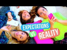 Sleepover Expectations VS Reality! - YouTube>> i love Alisha Marie!!!