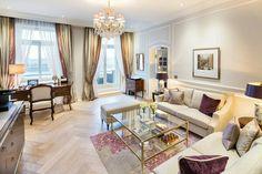Hotel Vier Jahreszeiten Hamburg, Suite Alster Wohnzimmer