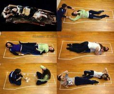 OR....She coulda gave him back the life jacket to.keep him warmer....wtf?