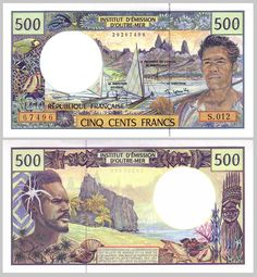 Roberts World Money. Sellers of Quality World Banknotes. Polynesian Men, Outre Mer, Money Notes, Marianne, Thinking Day, World Coins, Tahiti, Vintage World Maps, History