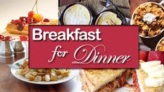 Breakfast for Dinner #breakfast